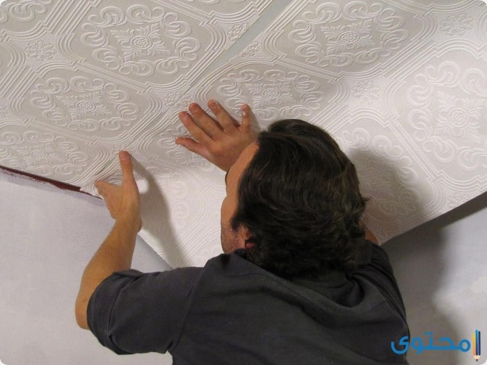 خطوات تركيب ورق الحائط بنفسك خطوات-تركي�