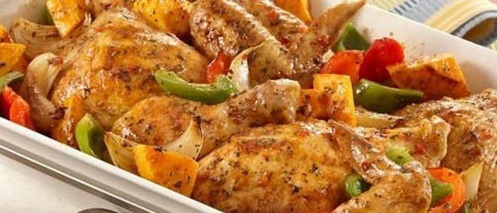 طريقة عمل دجاج بالفلفل منال العالم
