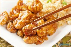 طريقة عمل الدجاج والشوربة الصينية الحارة
