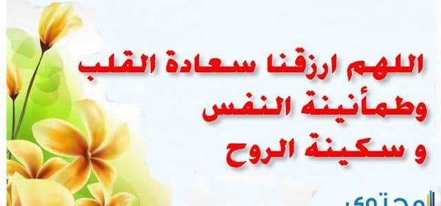 دعاء السعادة وقواعد الفرح من القرآن والسنة