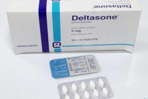دلتازون Deltasone أقراص شراب لعلاج الحساسية