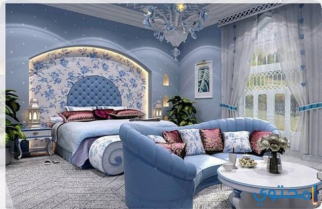أحدث ألوان دهانات غرف النوم 2019 موقع محتوى