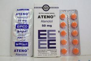 أتينو Ateno لعلاج ارتفاع ضغط الدم