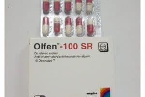 أولفين Olfen مسكن للآلام