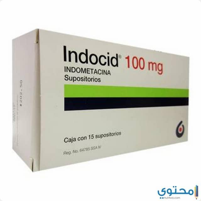 الجرعة الموصي بها لدواء إندوسيد