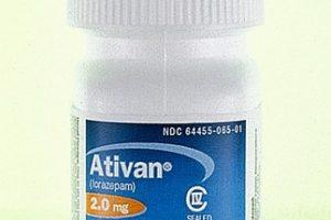 أتيفان Ativan لعلاج القلق ونوبات العصبية
