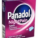 بنادول نايت Panadol Night أقراص خافضة للحرارة