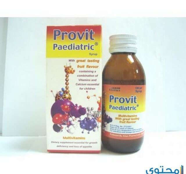 بروفت بديترك Provit Pediatric لعلاج نقص النمو وفقدان الشهية