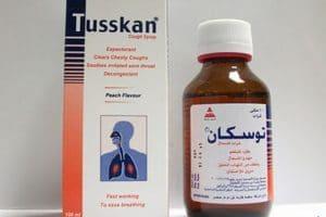 توسكان Tusskan لعلاج الكحة واحتقان الحلق