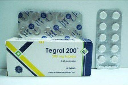 تيجرال Tegral أقراص لعلاج الصرع النفسي