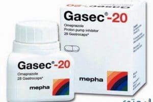جاسيك Gasec لعلاج قرحة المعدة والاثني عشر
