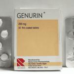 جينيورين Genurin لعلاج تقلصات الجهاز البولي