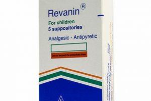ريفانين Revanin أقراص مسكن للآلام