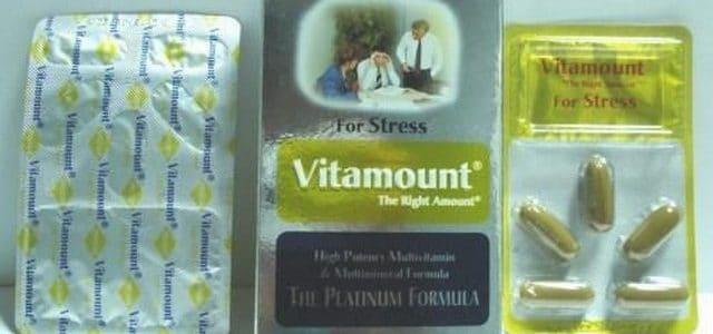فيتامونت ستريس Vitamount Srtess لعلاج نقص المعادن