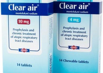 كلير إير Clear Air لعلاج حساسية الجهاز التنفسي