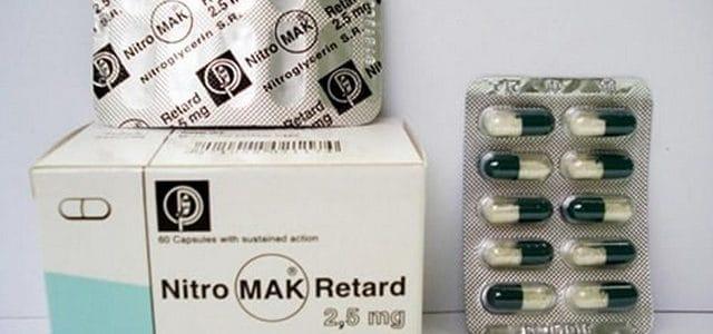 نيتروماك ريتارد NitroMak Retard لعلاج أمراض القلب