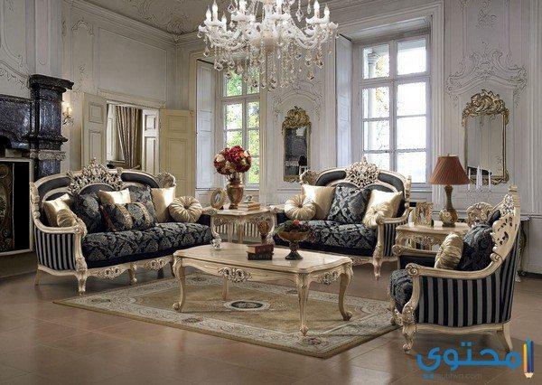 تصاميم غرف صالة إيطالية