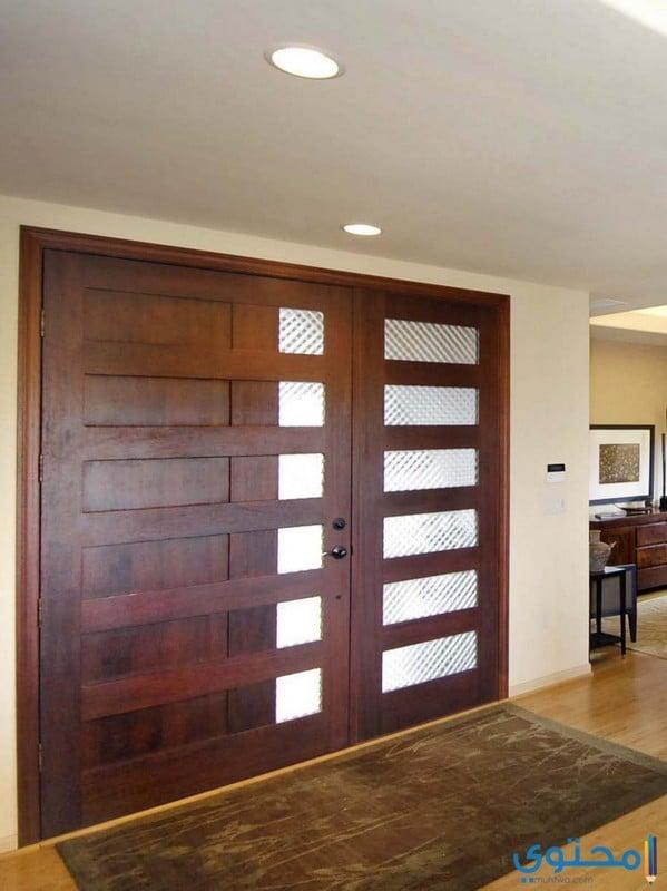 أشكال أبواب خشبية مفرغة
