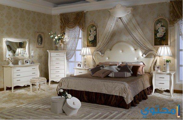 غرف نوم فرنسية مودرن