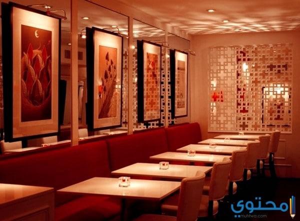 ديكورات مطاعم بسيطة