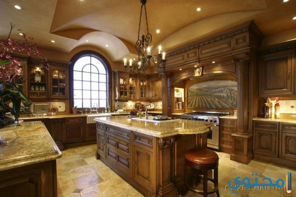 مطابخ ايطالية خشب