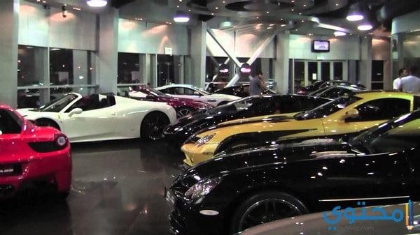 ديكورات معرض سيارات عصرية