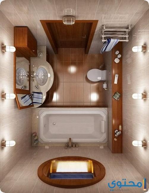 صور ديكور حمامات صغيرة - موقع محتوى
