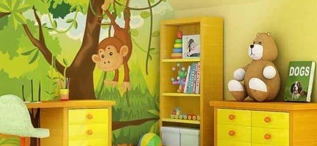 ديكور نقاشة الوان غرف اطفال
