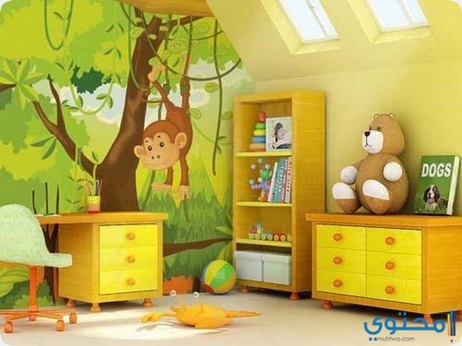 ديكور نقاشة الوان غرف اطفال موقع محتوى
