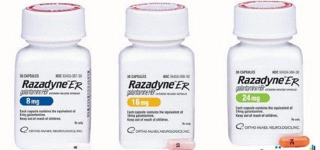 رازادين Razadyne علاج مرض الزهايمر والذهان