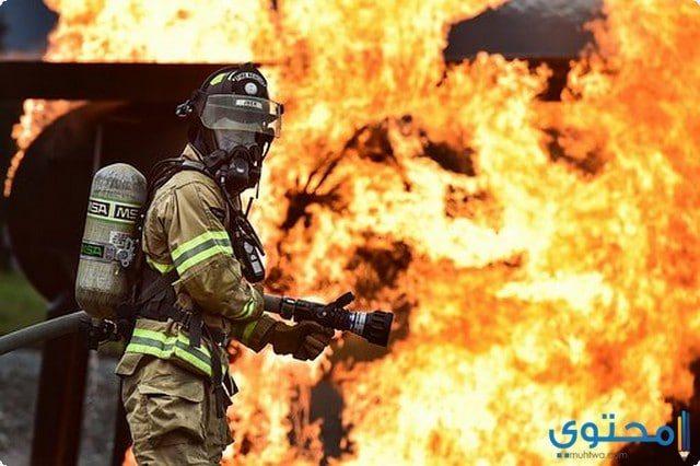 صفات رجل الإطفاء