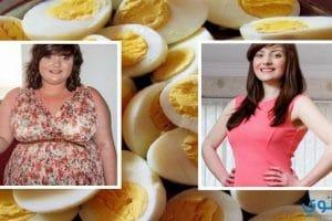 رجيم البيض المسلوق لفقد 10 كيلو خلال اسبوعين