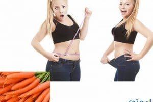 رجيم الجزر للتخلص من الدهون وفقد الوزن