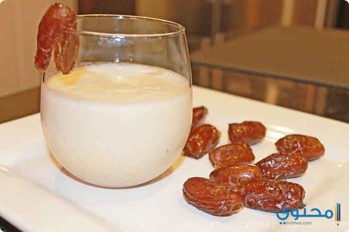 فوائد رجيم الحليب والتمر