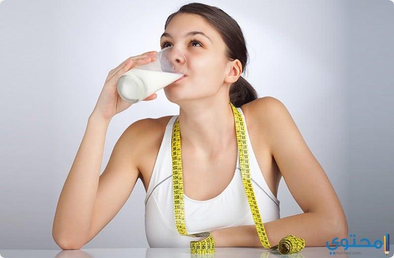 فوائد الحليب للتخسيس