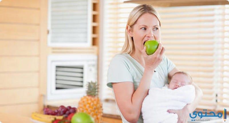 نظام رجيم بعد الولادة