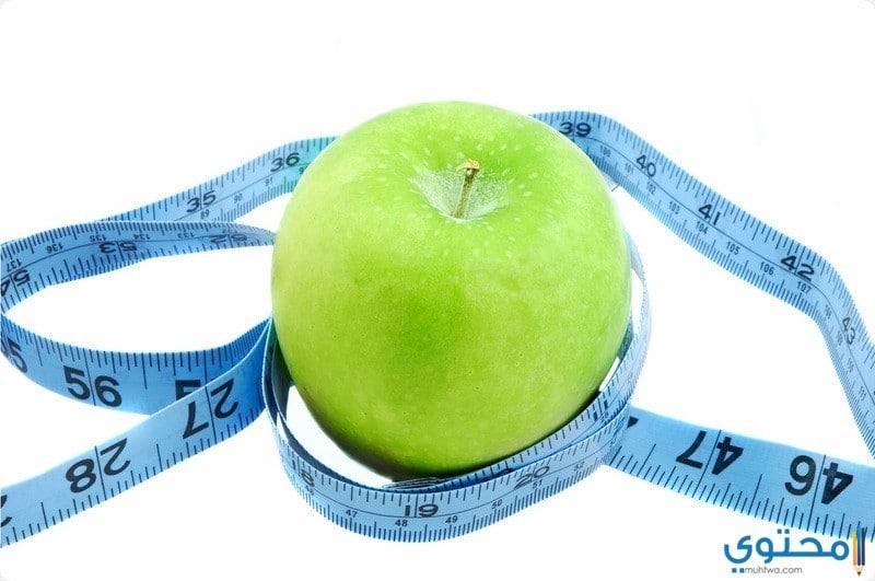 برنامج رجيم التفاح الأخضر لمدة 6 أيام