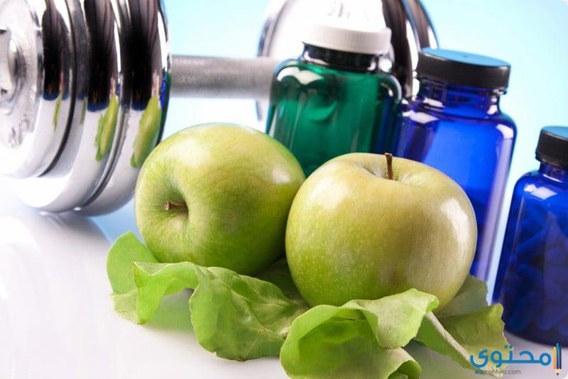 فوائد التفاح الأخضر للصحة