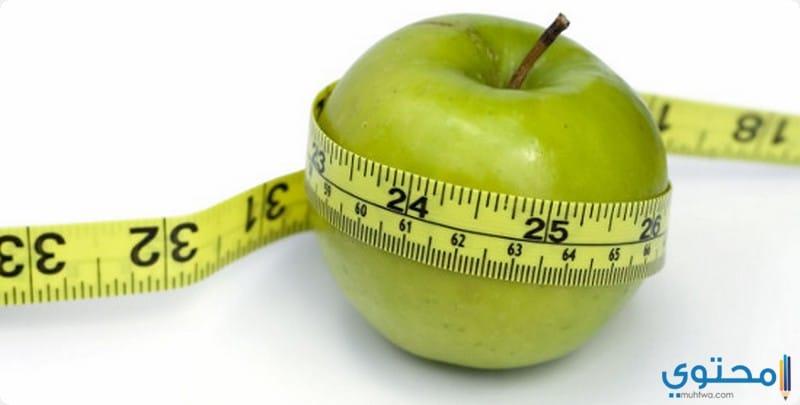 نصائح لنجاح رجيم التفاح الأخضر