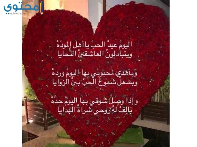 أحلى مسجات عيد الحب المصورة