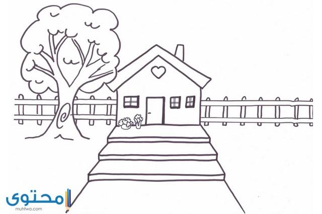 رسومات للاطفال للتلوين سهله