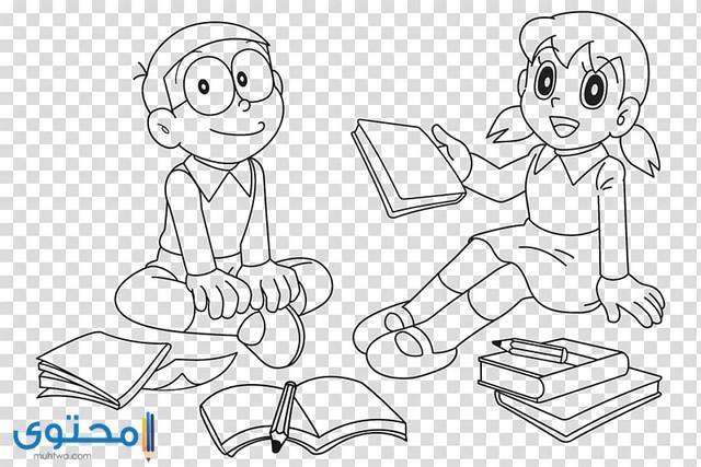 رسومات مفرغة للتلوين للاطفال