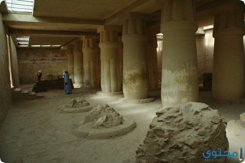 من داخل مقبرة رع موزا