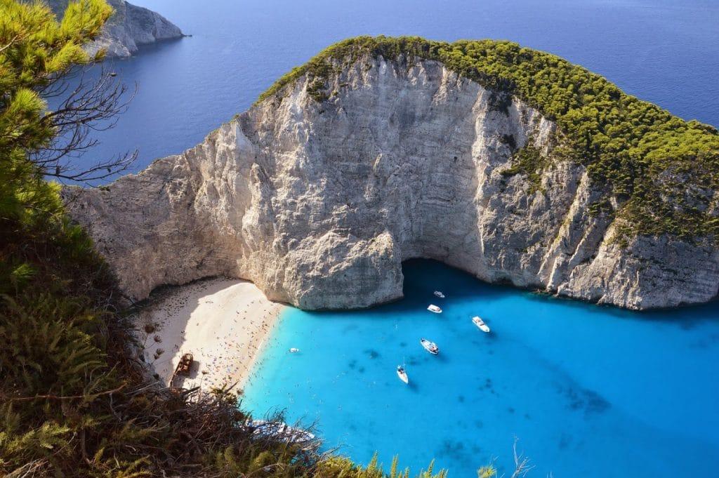 خليج زانت في اليونان