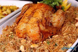 طريقة عمل زرب الدجاج مع الأرز