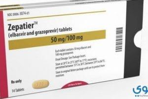 زيباتير Zepatier أقراص لعلاج فيروس سي