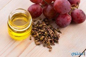 فوائد زيت بذور العنب للشعر والبشرة