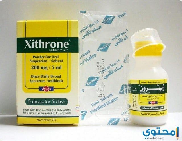 ما هي الآثار الجانبية لدواء زيثرون