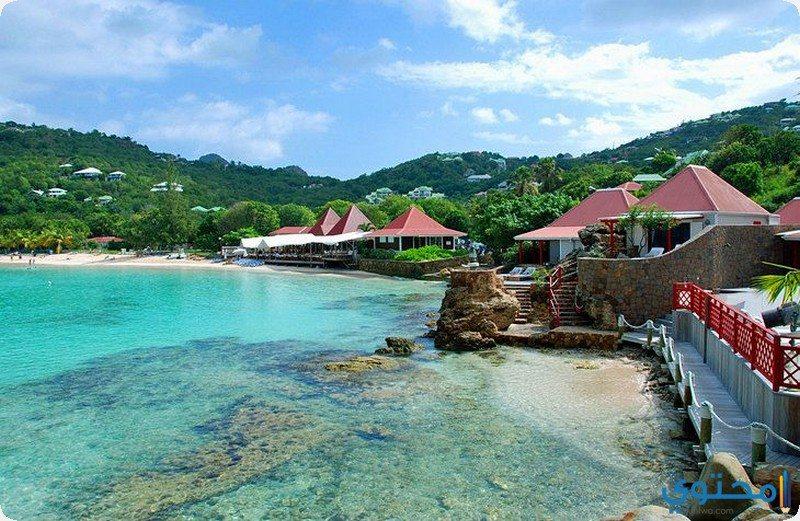 جزر سانت بارتي الفرنسية