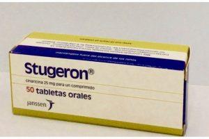 ستوجيرون Stugeron لعلاج الشعور بالدوار